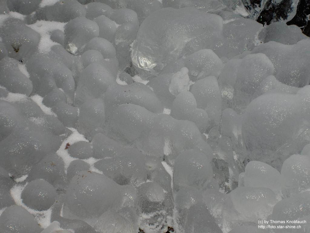 Ice bullets