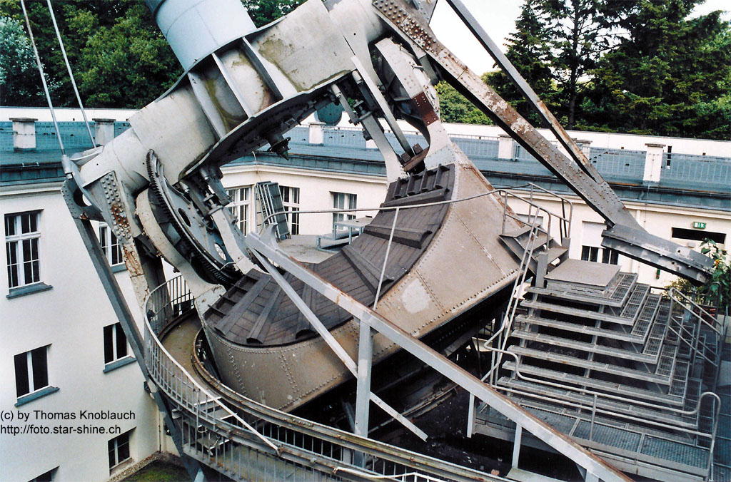 Archenhold Observatory Berlin - focal point