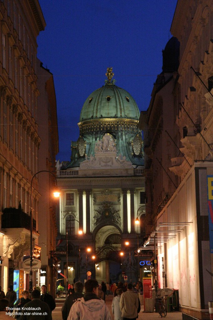 Vienna at night, Austria