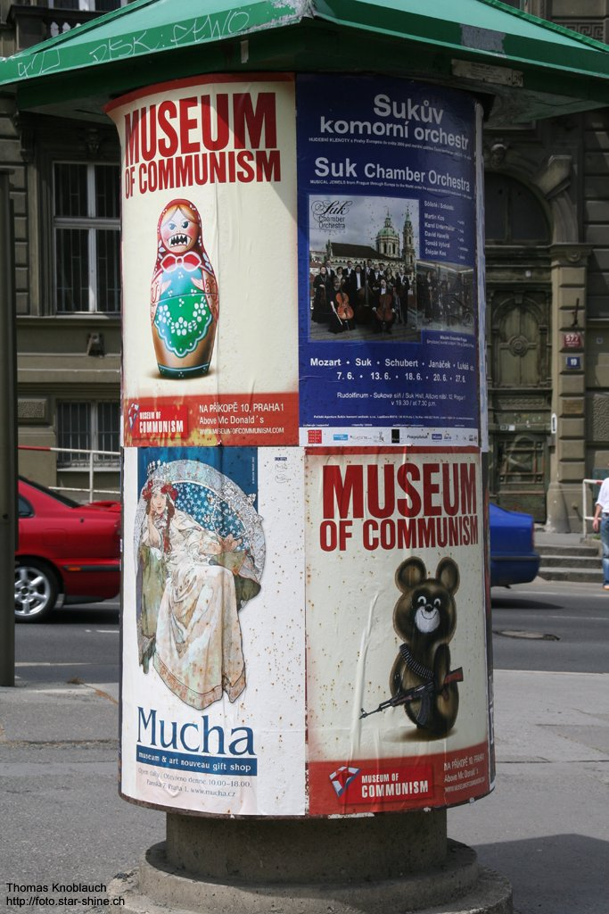 Today thoughts about comunism, Prague, Czechia