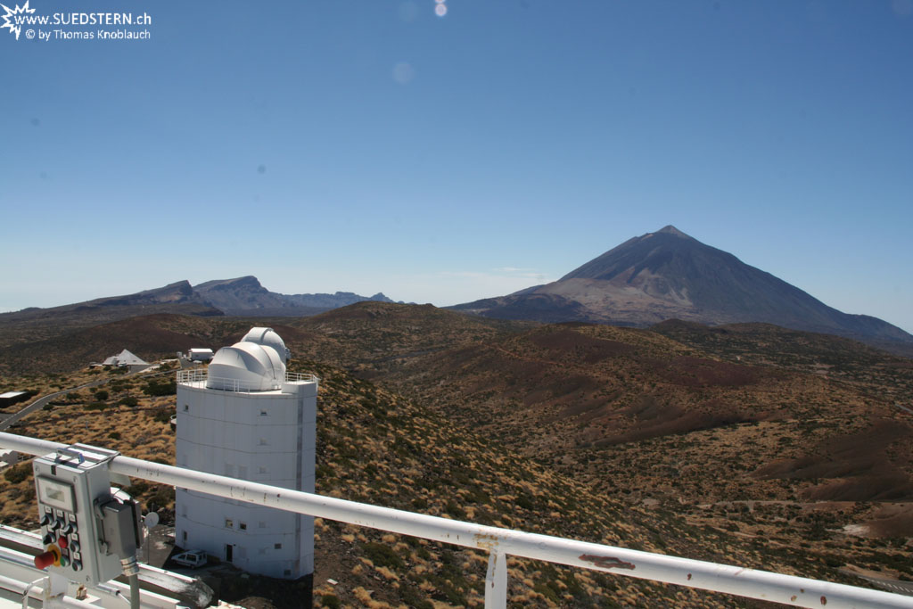 Teide seen from VTT (Izaña, Teneriffa) - IMG 0300