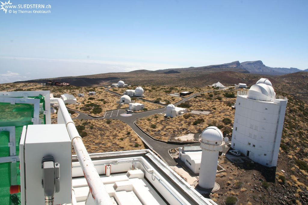 Izaña Observatories seen from VTT (Teneriffa) - IMG 0301