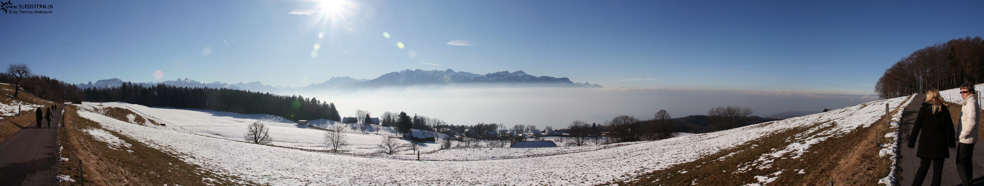 2007-12-27 - Panorama near Mont-Pèlerin, Switzerland