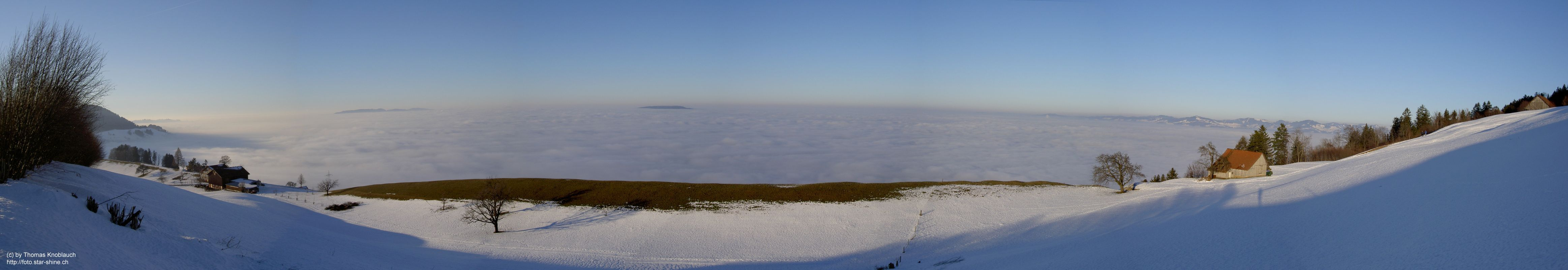 Sea of fog Panorama