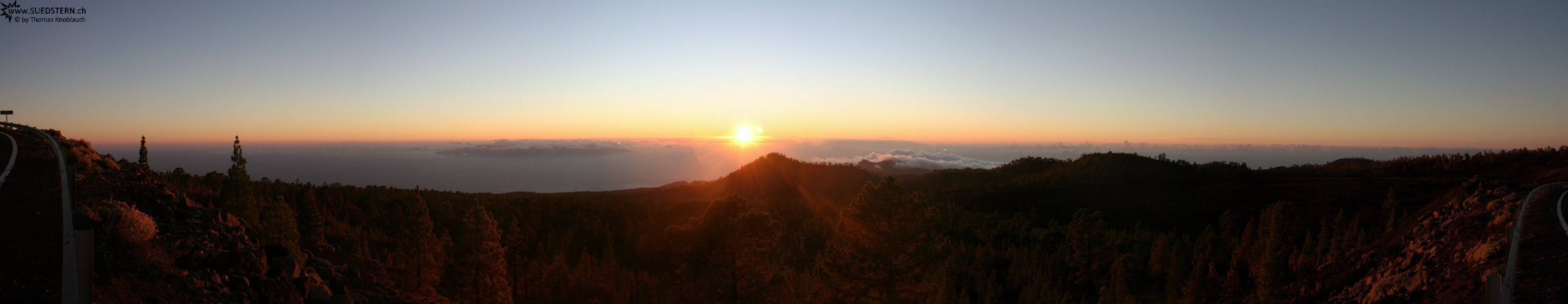 2007-09-05 - 10 - Teneriffa, sundown at westseide of Teide Caldera