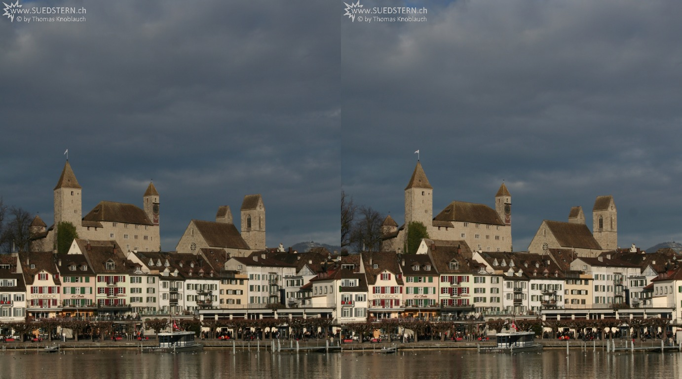 2009-12-27 - 3D - Castle of Rapperswil, Switzerland
