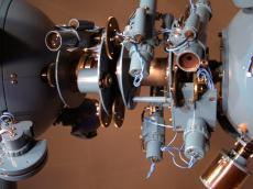 Detailed view of star projector Skymaster ZKP3
