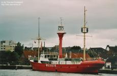 Lightboat in Wilhelmshaven, Germany